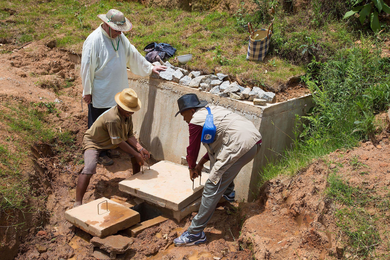 Travaux pour accès à l'eau