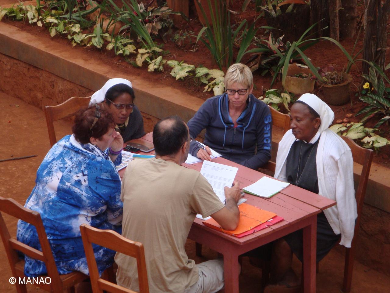 comité en pleine réunion
