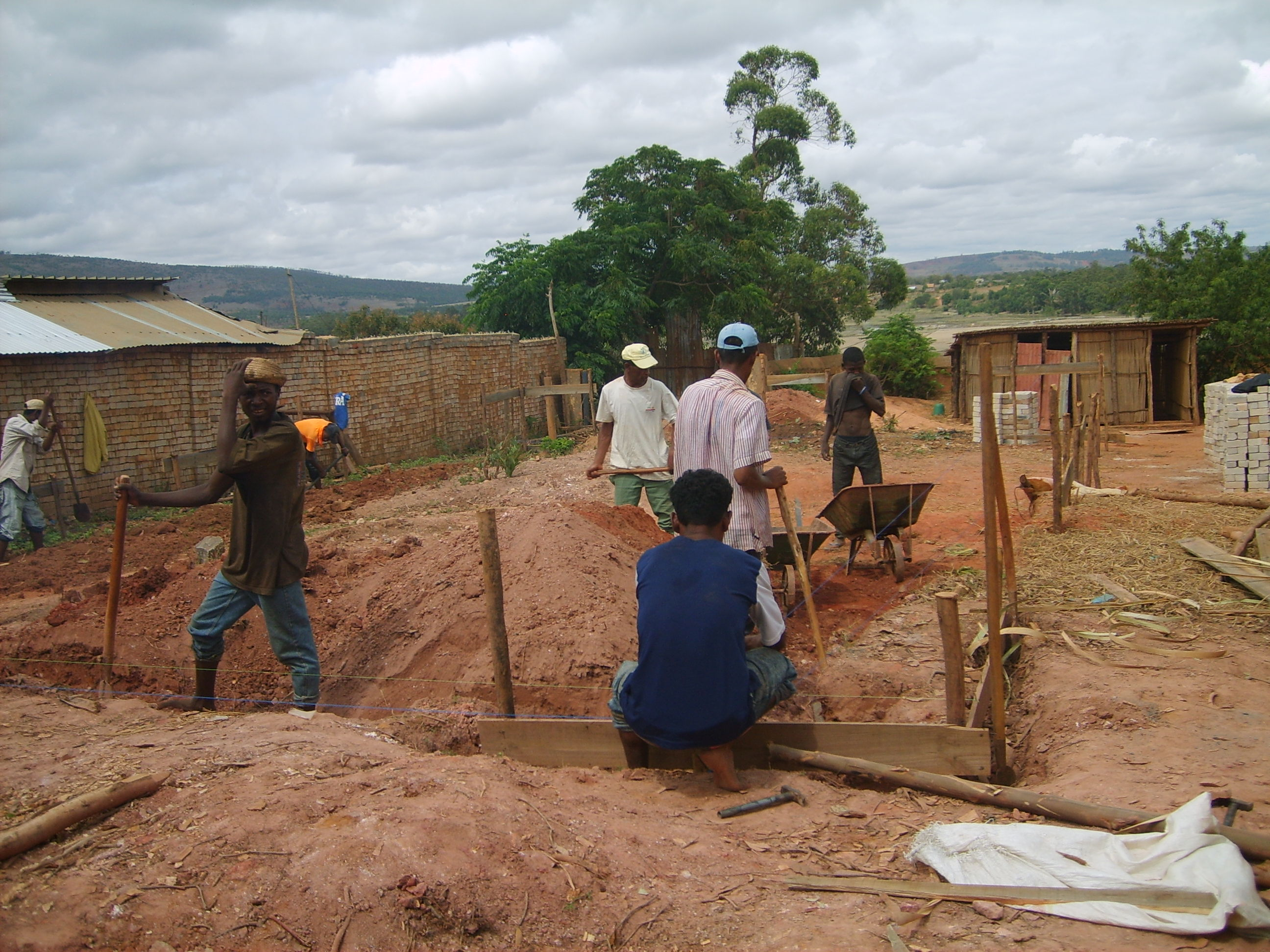 construction structure base