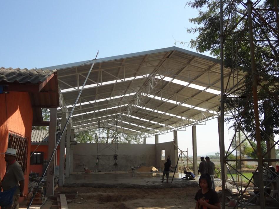 structure globale en construction