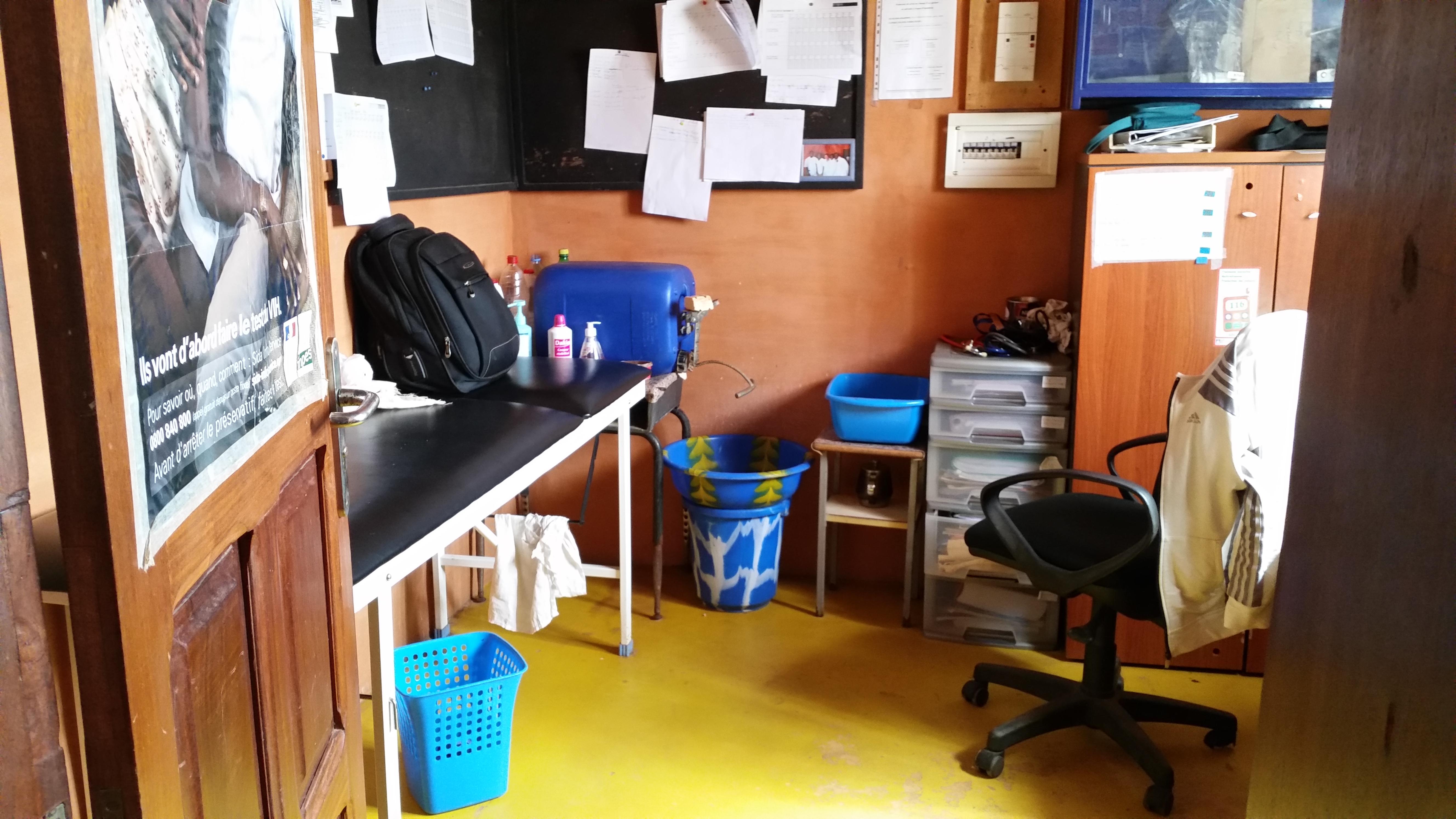 chambre vu sur bureau