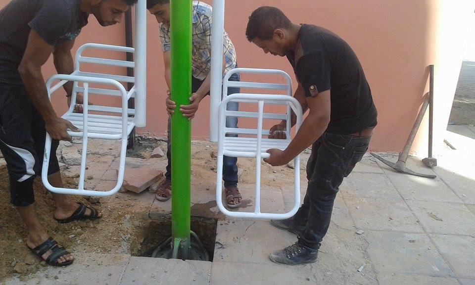 medina Palestine construction
