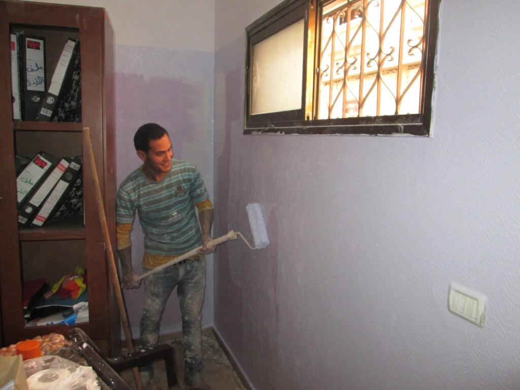 medina palestine peinture