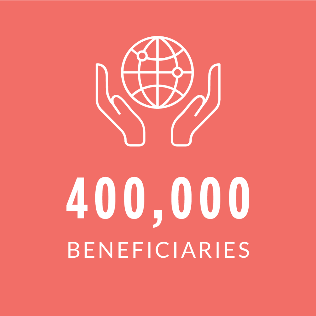 Wavestone Foundation: 400,000 beneficiaries