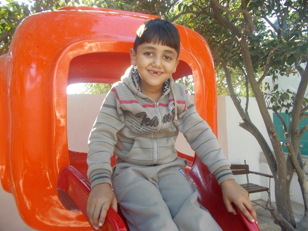 Medina Palestine enfant